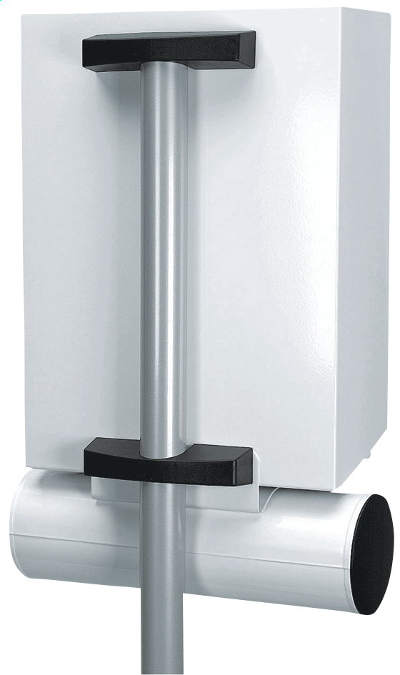 Afbeelding van Brabantia brievenbuspaal U100 inox from ColliShop