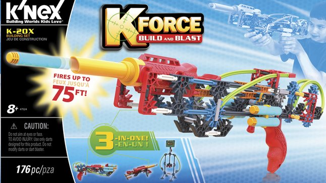 Image pour K'nex K-Force Build and Blast K-20X à partir de ColliShop