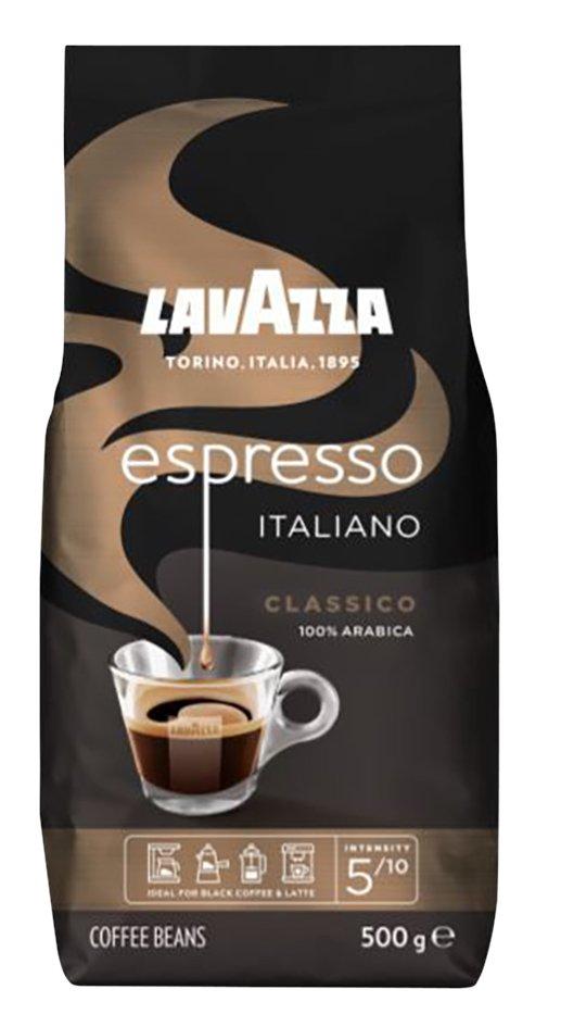 LavAzza Koffiebonen Italiano Classico espresso 500 g - 6 stuks