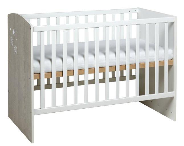 Image pour Sauthon Lit de bébé Ana L 120 x Lg 60 cm à partir de ColliShop