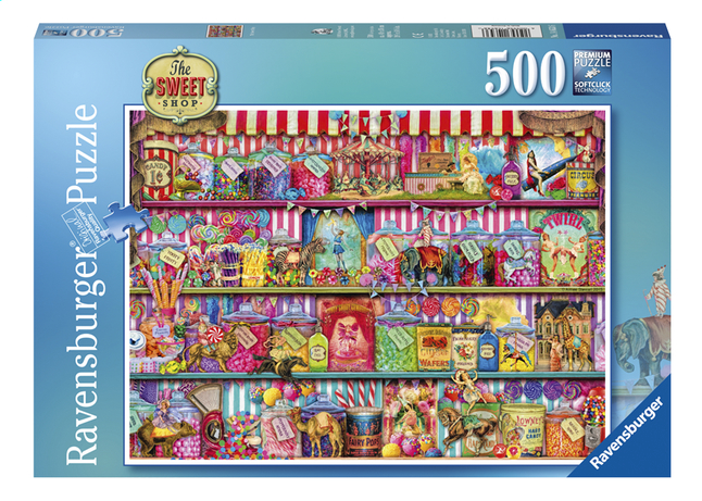 Afbeelding van Ravensburger puzzel The Sweet Shop from ColliShop