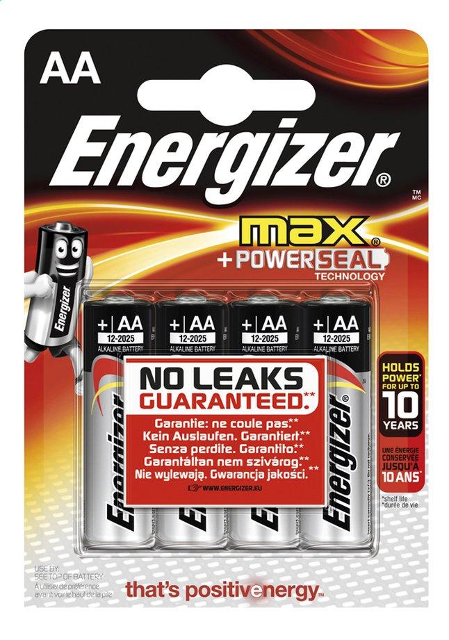 Image pour Energizer Max pile AA - 4 pièces à partir de ColliShop