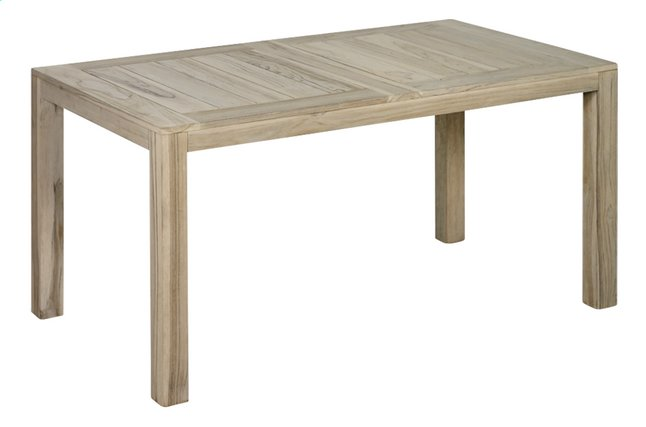 Image pour Table de jardin Ulm Grey Wash 160 x 90 cm à partir de ColliShop