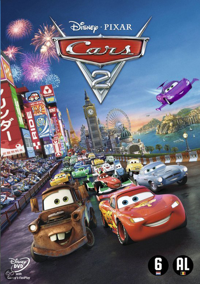 Afbeelding van Dvd Disney Cars 2 from ColliShop