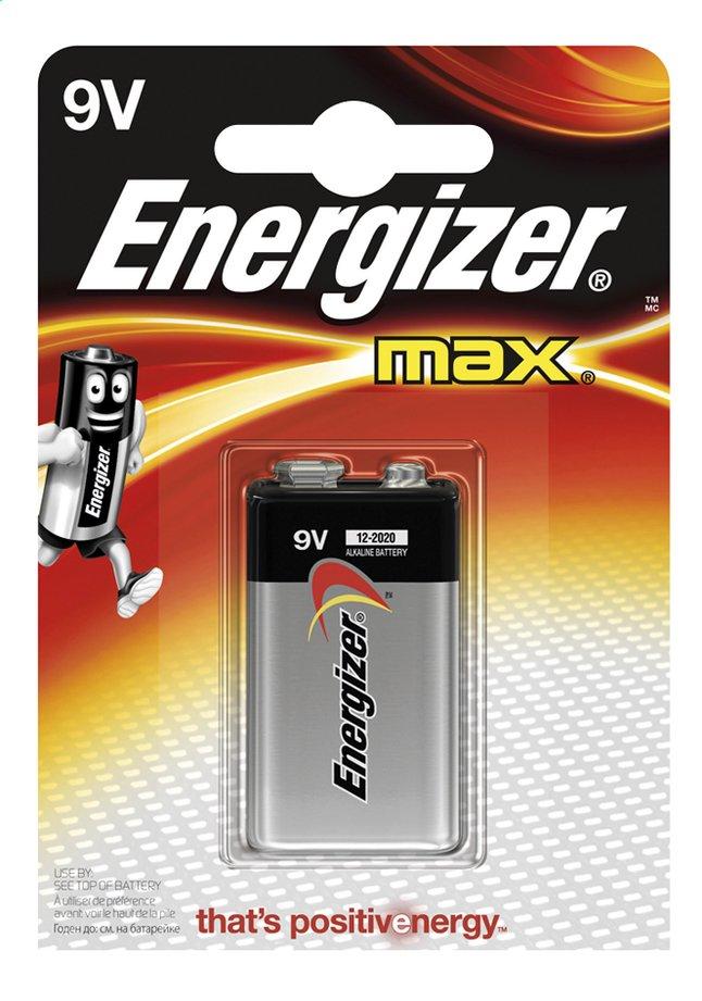 Image pour Energizer Max pile 9V à partir de ColliShop