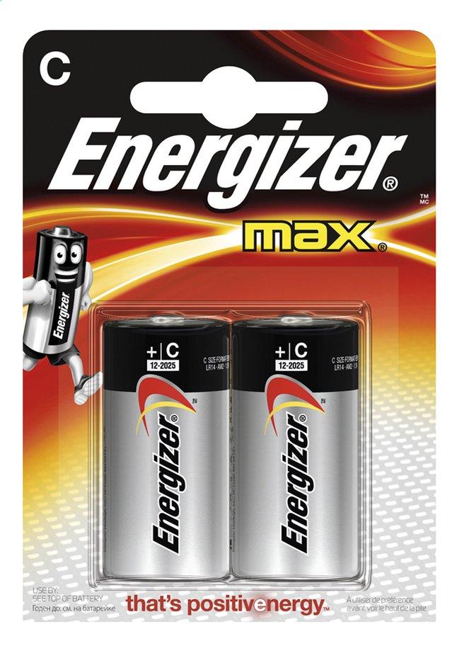 Image pour Energizer Max pile C - 2 pièces à partir de ColliShop