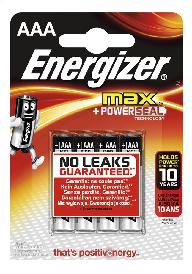 Image pour Energizer Max pile AAA - 4 pièces à partir de ColliShop