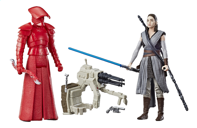 Afbeelding van Actiefiguur Disney Star Wars Force Link duopack Rey & Elite Praetorian Guard from ColliShop
