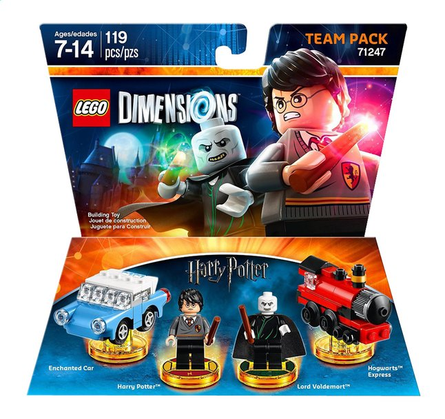 Afbeelding van LEGO Dimensions Harry Potter Team pack 71247 ENG/FR from ColliShop