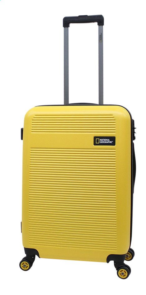 f0f3c88af33 Afbeelding van National Geographic harde reistrolley Aerodrome Spinner  Yellow 67 cm from ColliShop