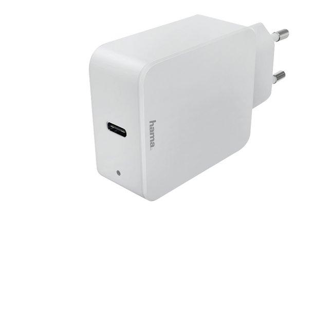 Image pour Hama chargeur pour tablettes et smartphones USB Type-C Power Delivery 18W blanc à partir de ColliShop
