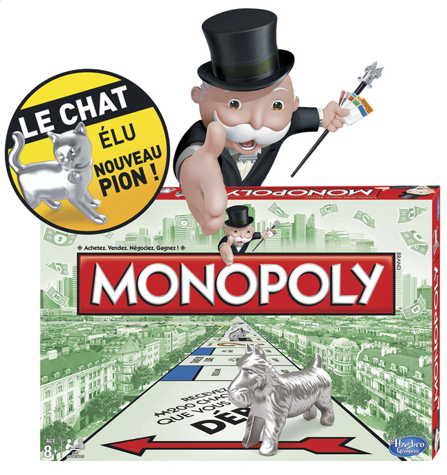 Afbeelding van Monopoly Classic 2013 from ColliShop