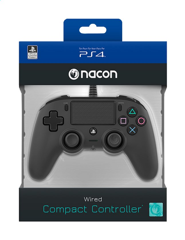Afbeelding van Nacon PS4 Wired Compact Controller from ColliShop
