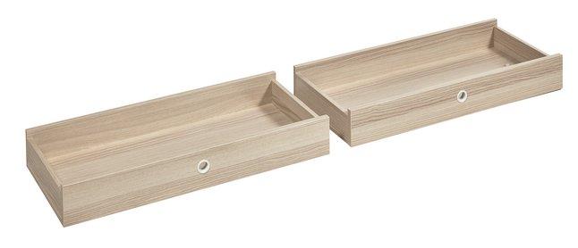 Image pour 2 tiroirs pour bureau Bente à partir de ColliShop