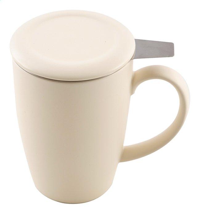 Image pour Point-Virgule Tasse à thé 40 cl avec infuseur blanc cassé à partir de ColliShop