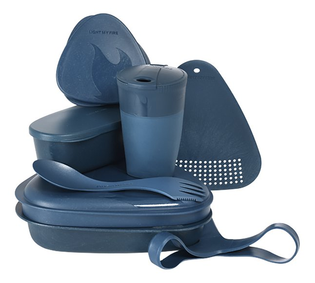 Light My Fire kookset 8-in-1 Mealkit Bio hazeyblue
