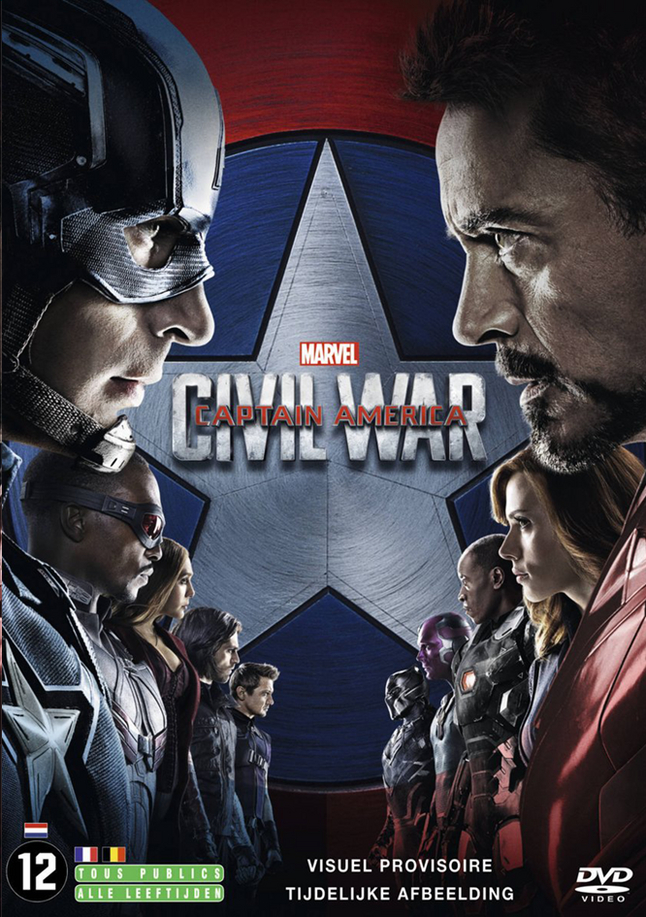 Afbeelding van Dvd Captain America: Civil War from ColliShop