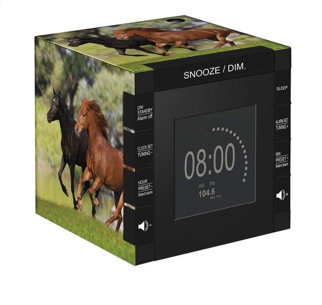 Image pour bigben radio-réveil avec projection RR70 Chevaux à partir de ColliShop