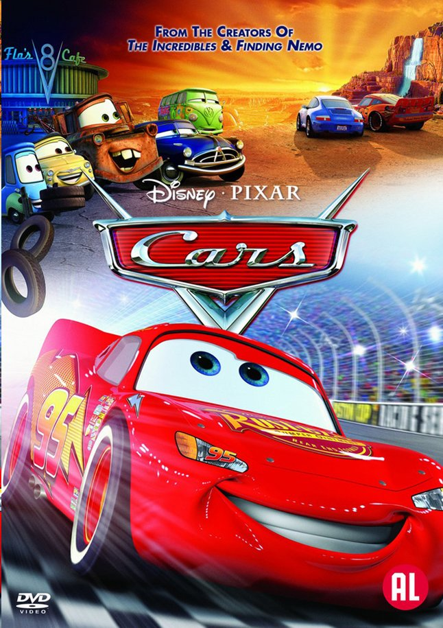 Afbeelding van Dvd Disney Cars from ColliShop