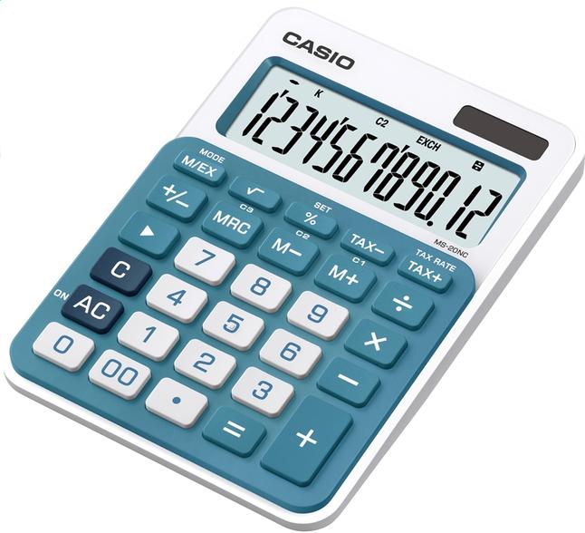Image pour Casio calculatrice MS20 NC bleu à partir de ColliShop