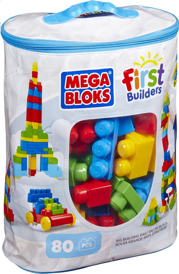 Image pour Mega Bloks First Builders Big Building Bag à partir de ColliShop