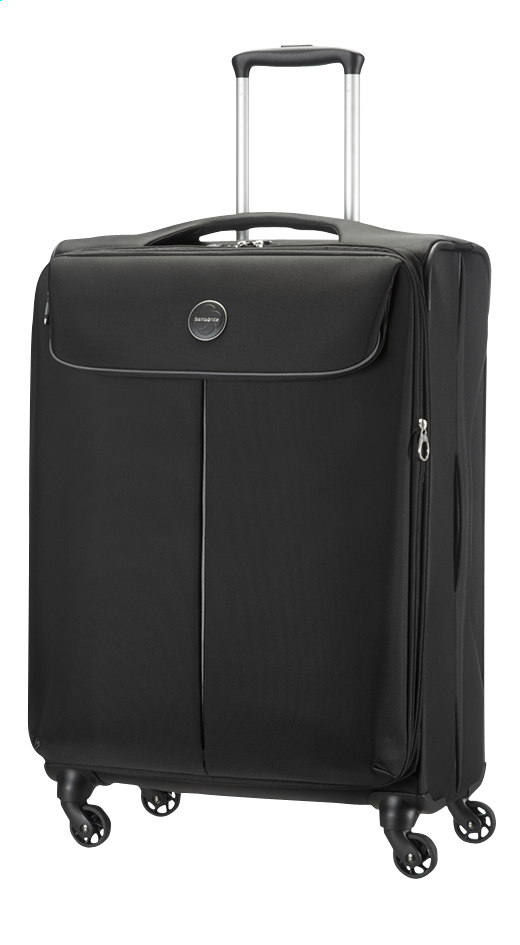 Image pour Samsonite Valise souple Pop-Fresh Spinner black EXP 70 cm à partir de ColliShop