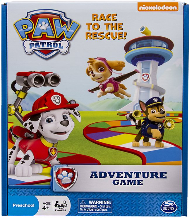 Afbeelding van PAW Patrol Avonturenspel from ColliShop