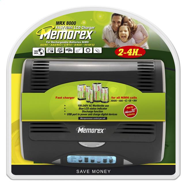 Afbeelding van Memorex batterijlader Universeel MRX8000 from ColliShop