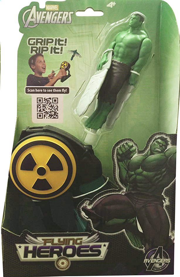 Afbeelding van Figuur Avengers Flying Heroes Hulk from ColliShop