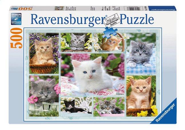 Afbeelding van Ravensburger puzzel Poesjes in hun mandje from ColliShop