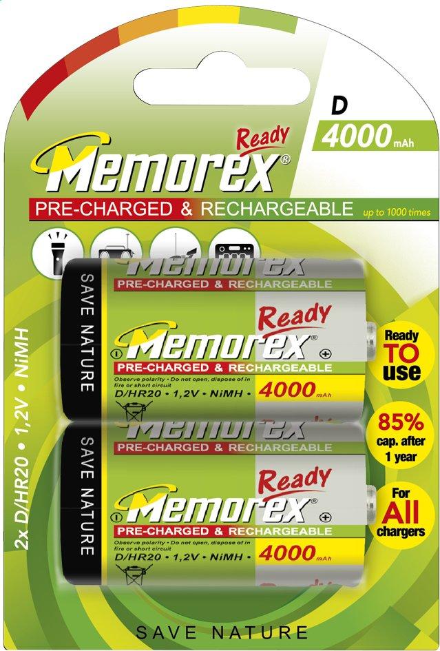 Image pour Memorex 2 piles D Ready rechargeables à partir de ColliShop