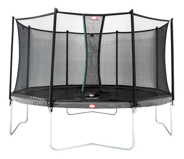 Image pour Berg ensemble trampoline Favorit Ø 3,80 m Grey à partir de ColliShop