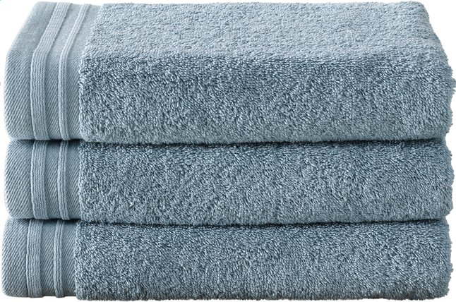 Image pour De Witte Lietaer 3 serviettes 50 x 100 cm Imagine bleu à partir de ColliShop