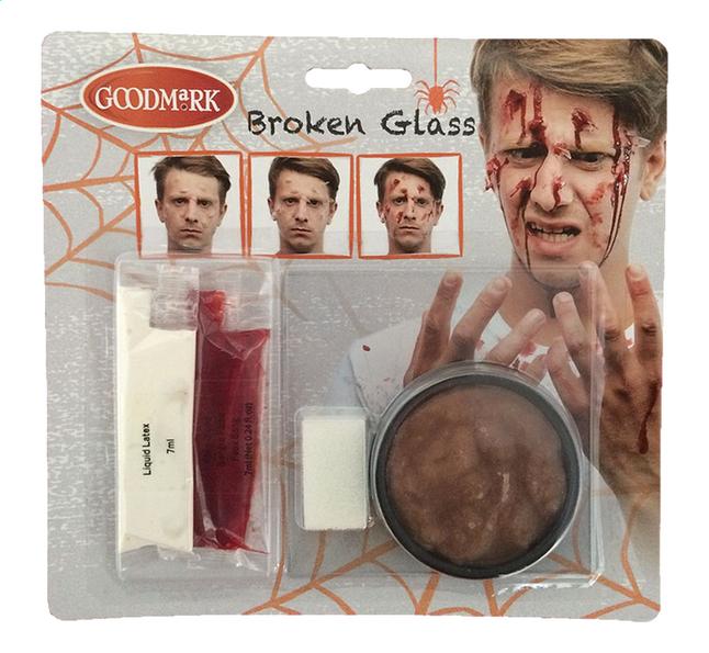Afbeelding van Goodmark make-upset Broken glass from ColliShop