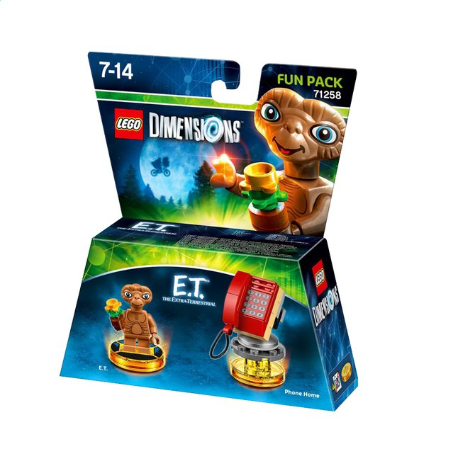 Afbeelding van LEGO Dimensions Fun Pack 71258 E.T. The extra-terrestrial ENG/FR from ColliShop