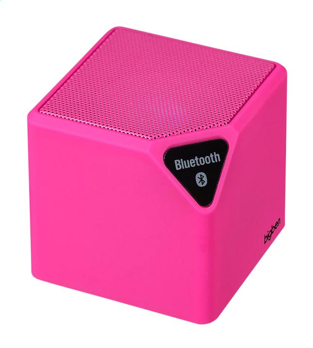 bigben luidspreker bluetooth BT14RS roze