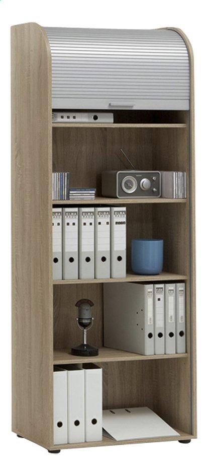 Image pour FMD Armoire avec porte coulissante et 5 tablettes  Profi 22 décor chêne à partir de ColliShop