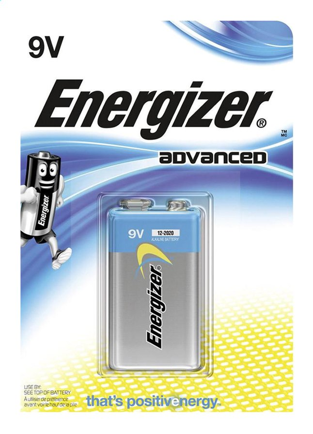 Afbeelding van Energizer 9V-batterij Advanced from ColliShop
