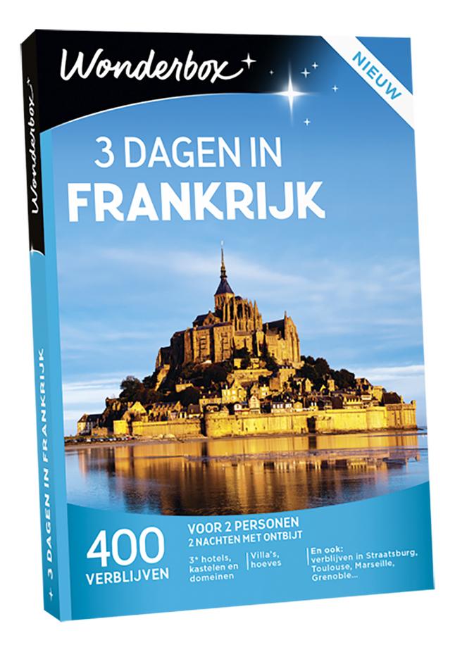 Afbeelding van Wonderbox 3 Dagen In Frankrijk from ColliShop