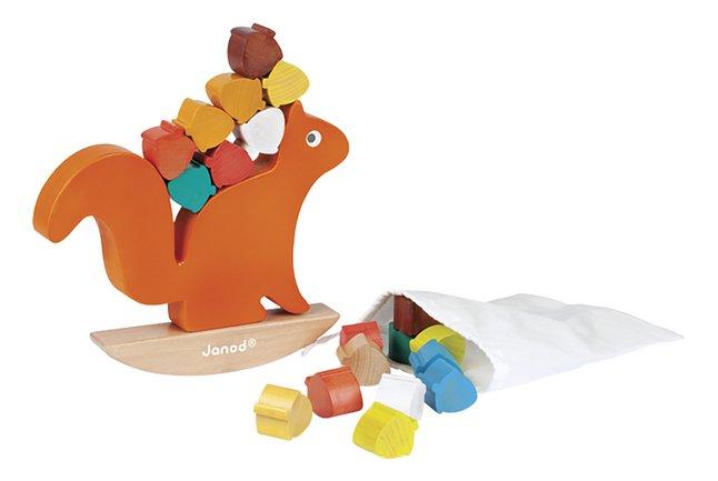 Image pour Janod blocs à empiler/jeu d'équilibre Nutty Balance en bois à partir de ColliShop
