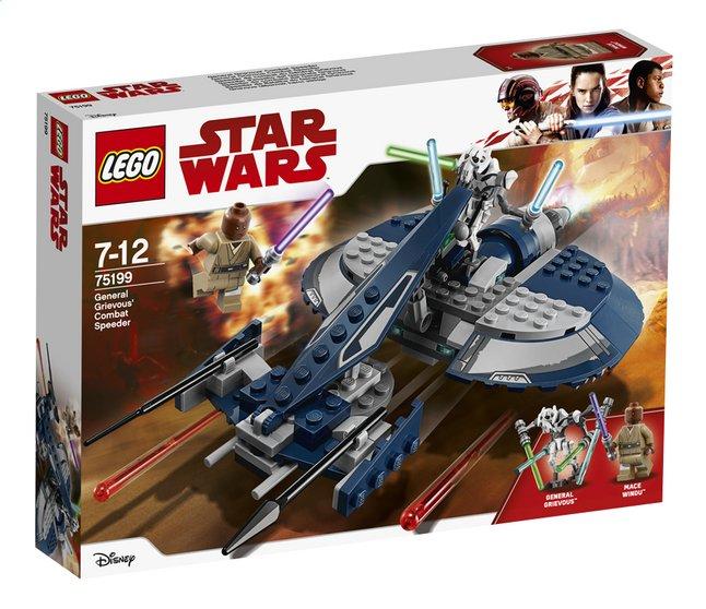 Image pour LEGO Star Wars 75199 Speeder de combat du Général Grievous à partir de ColliShop