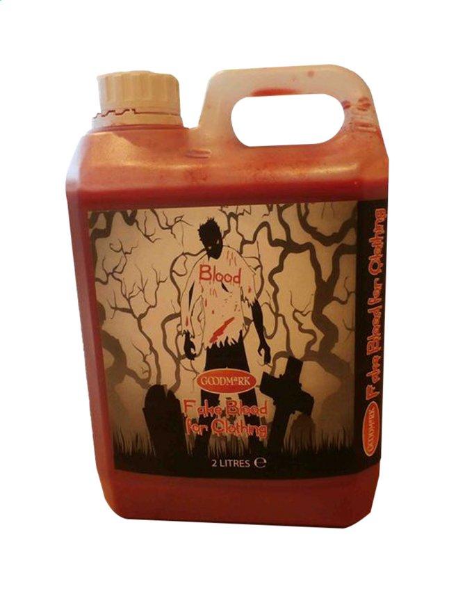 Image pour Goodmark Jerrican de faux sang pour vêtements - 2 litres à partir de ColliShop
