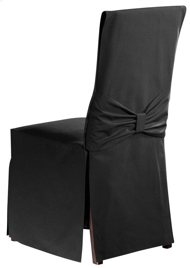 Mistral housse pour chaise torino uniline anthracite - Housse chaise habitat ...