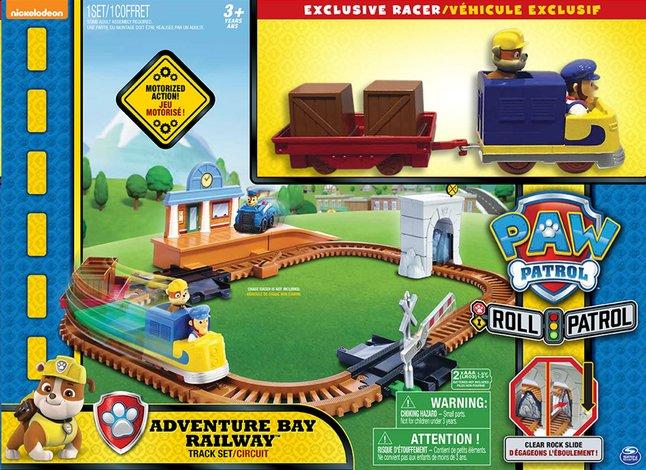 Image pour Set de jeu Pat' Patrouille Circuit Adventure Bay Railway à partir de ColliShop