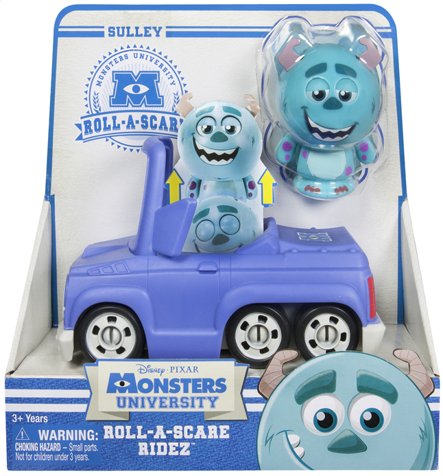 Afbeelding van Monsters University Roll-a-Scare Ridez Sulley from ColliShop
