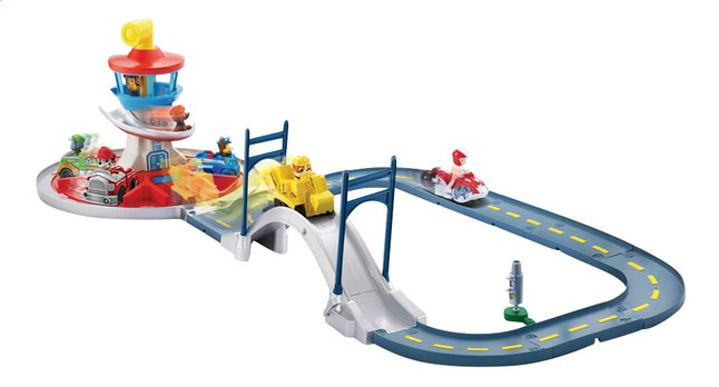 Afbeelding van Speelset PAW Patrol Launch 'n' Roll Lookout Tower Track Set from ColliShop