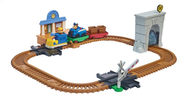 Afbeelding van Speelset PAW Patrol Adventure Bay Railway Track set from ColliShop