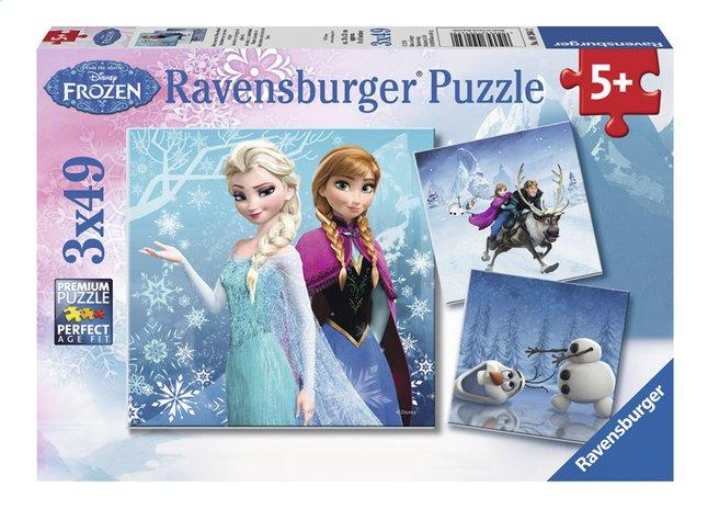 Afbeelding van Ravensburger puzzel 3-in-1 Disney Frozen Avontuur in winterland from ColliShop