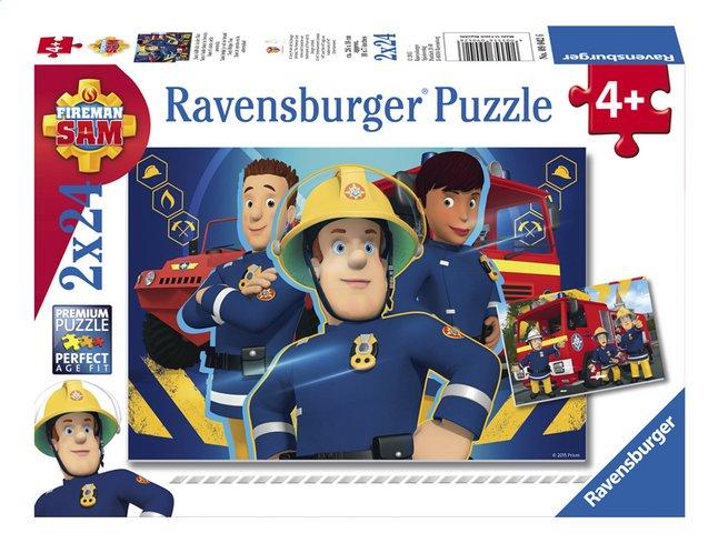 Afbeelding van Ravensburger puzzel 2-in-1 Brandweerman Sam - Sam helpt je uit de brand from ColliShop
