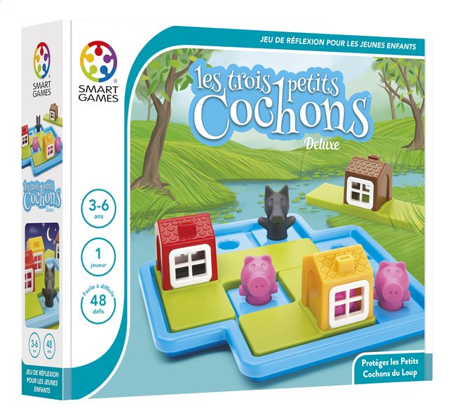 Afbeelding van Les trois petits cochons Deluxe FR from ColliShop